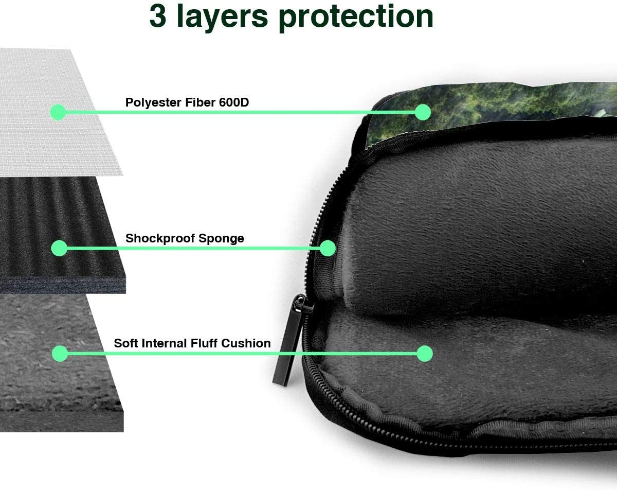 Notebook MacBook Islands Huge Turtle Computer Sleeve Cover with Handle Sony Business Briefcase Protective Bag for Ultrabook Laptop Shoulder Bag Carrying Laptop Case 13 Inch