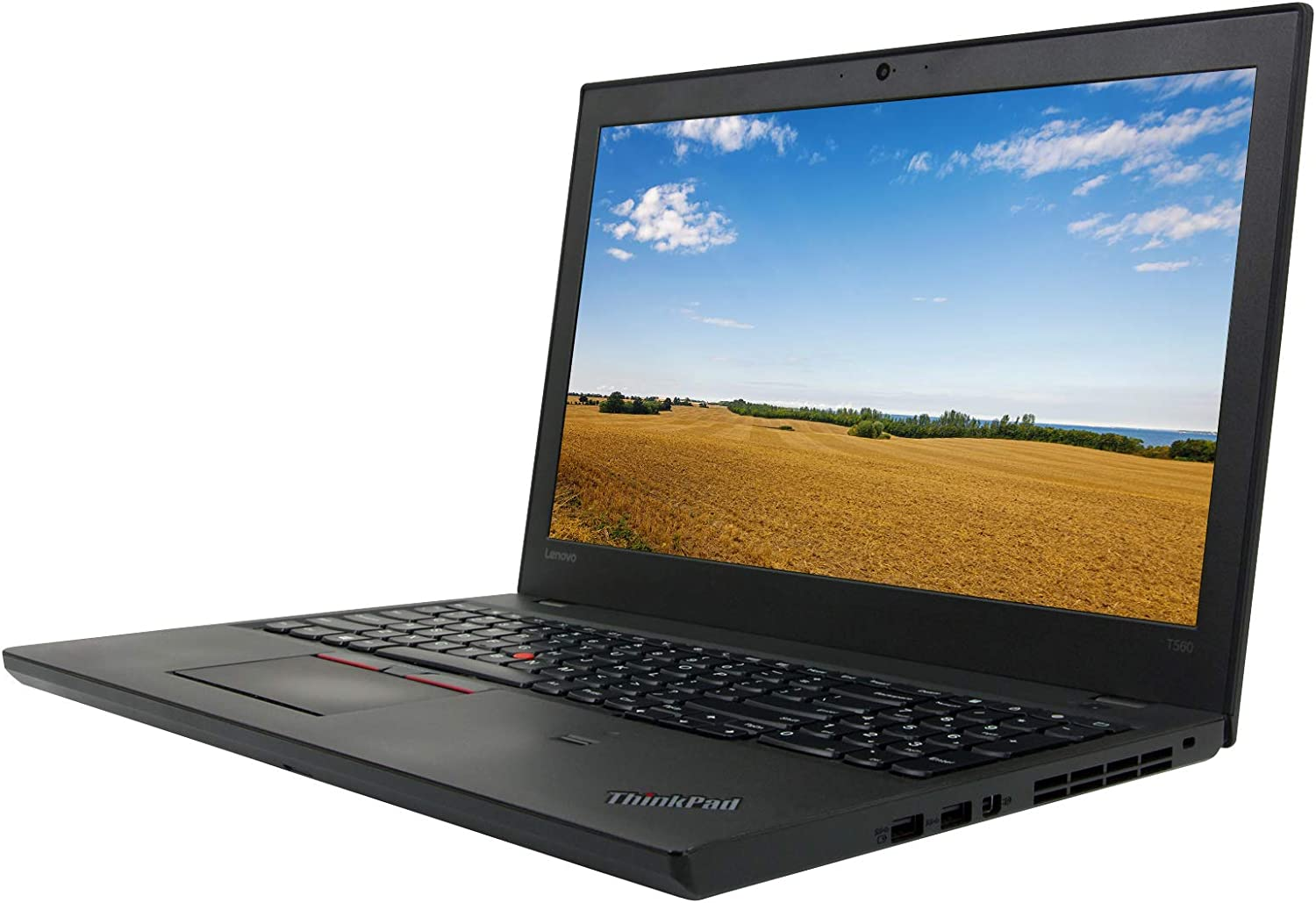 "Lenovo ThinkPad T560 15.6"" HD, Core i5-6300U 2.4GHz, 8GB RAM, 256GB Solid State Drive, Windows 10 Pro 64Bit, CAM, (Renewed)"