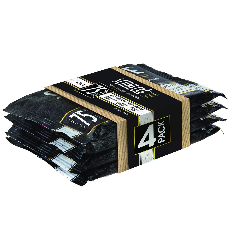 Schmécké 75% RH Cigar Two-Way Humidity Control 80 Grams x 4 Pack - Zero Guesswork - Regulate & Stabilize Humidor RH Level by Schmécké