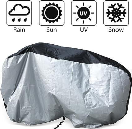 Heavy Duty Waterproof Bicycle Cover Bike Sun//Rain//Snow//Dust Proof UV Protector
