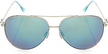 73be290333 LIPSY Women Mirror Aviator Sunglasses