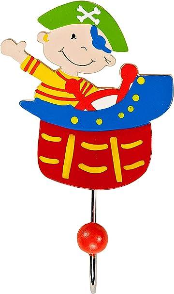 Mousehouse Gifts Childrens Zebra Design Coat Hook Wall Hook for Girls or Boys Nursery or Bedroom
