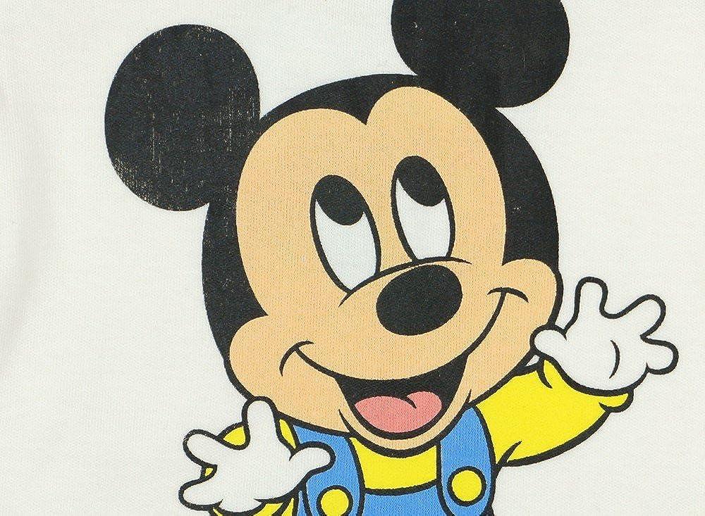 Disney Baby Junge Set 5-teiler mit M/ütze /ärmelloser-Strampler Body Kratzhandschuhe Jacke in Gr/ö/ße 50 56 62 100/% Baumwolle Mickey Mouse Erstausstattung