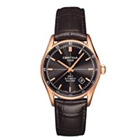 Deals on Certina DS 1 Automatic Black Dial Mens Watch C0064073608100