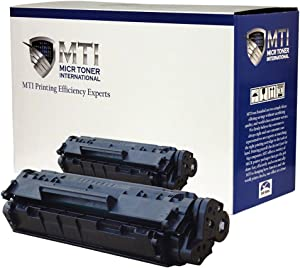MICR Toner International Compatible MICR Toner Cartridge Replacement for HP Q2612A 12A LaserJet 1010 1012 1015 1018 1020 1022 3015 3020 3030 3050 3052 3055 M1319