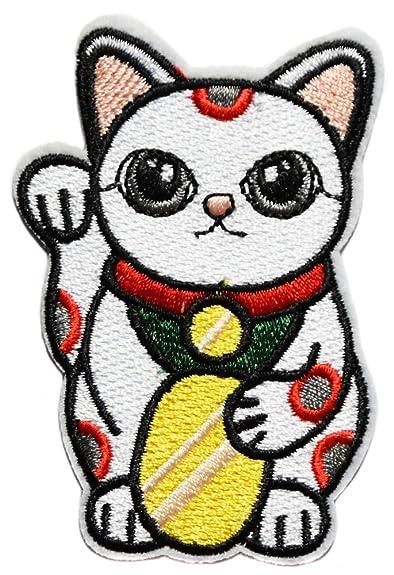 Topt Rasta Chat Porte Bonheur Japonais Maneki Neko Dollar