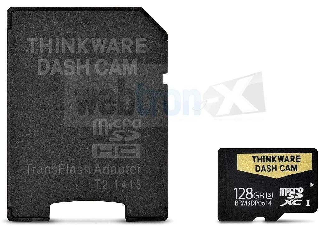19-DASHCAMSD128 128gb Memory Card for F800 F800Pro