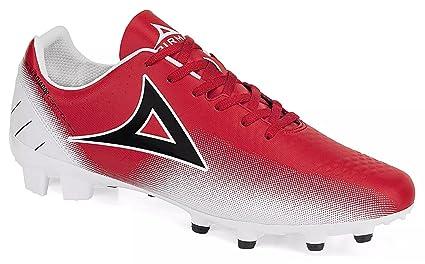 Amazon.com  Pirma Gladiador Control Soccer Cleats White RED (12) (12 ... e179af930744f