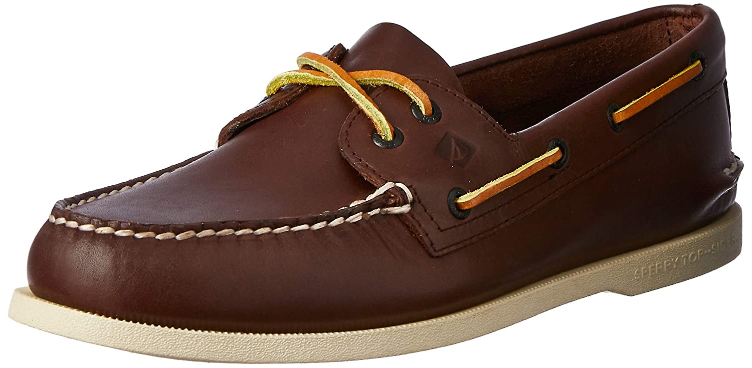 Marron Sperry A O 2 Eye, Chaussures bateau homme 14.5 UK