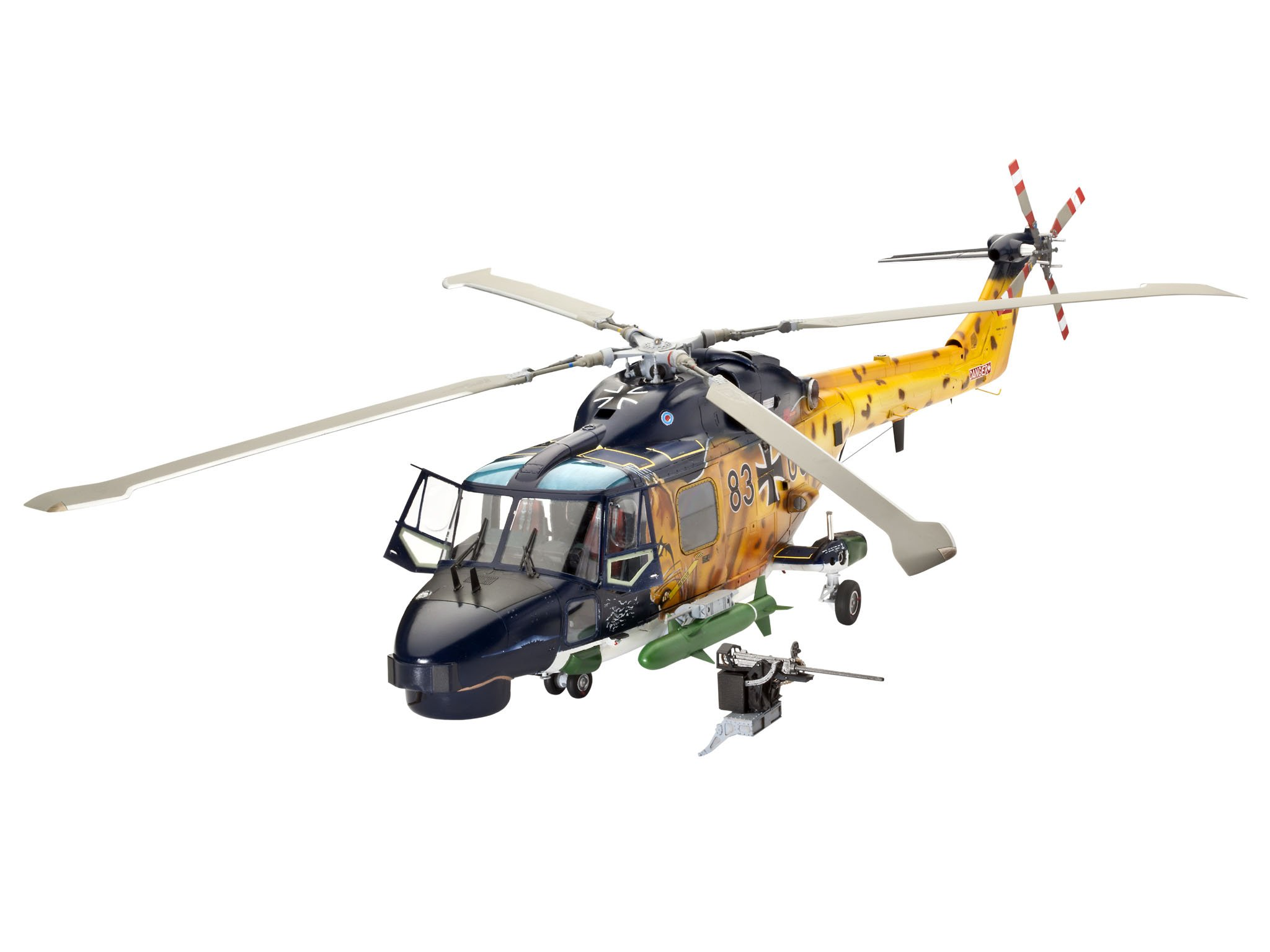 Revell 04652 1/32 Westland Lynx MK88/HAS Mk2 Helicopter