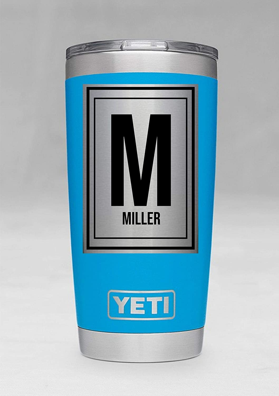 47bb0d56910 Amazon.com: 20 Ounce Tahoe Blue Personalized Yeti Tumbler - Engraved ...