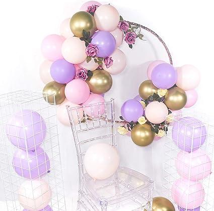 "10 x Metallic Lavender helium or air fill BALLOONS Pretty LILAC 11/"" FREE P/&P"