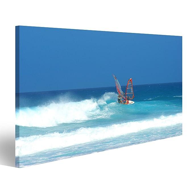 Cuadro Cuadros Tabla de Windsurf en Fuerteventura Persona ...