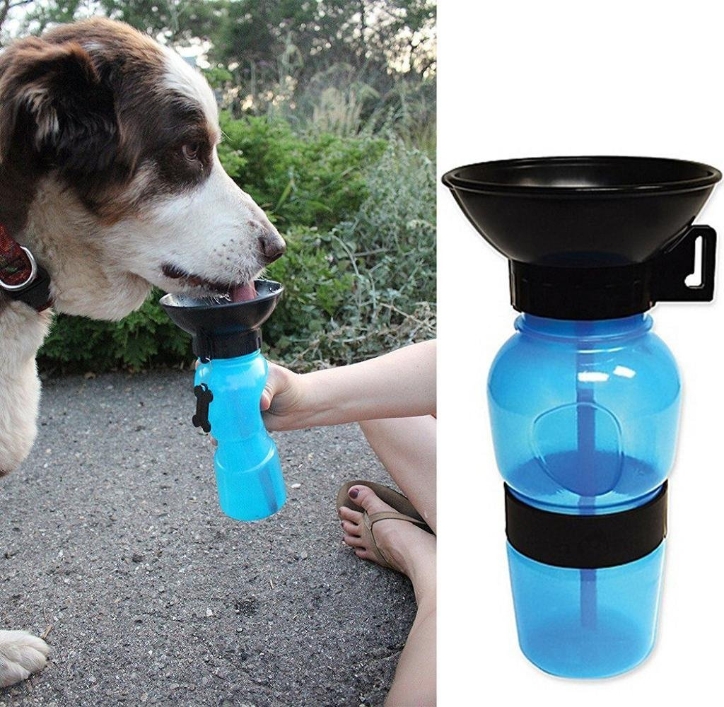 Mingjun Aqua Dog Bol d'Eau Bouteille d'Eau Portable pour Chien Voyage