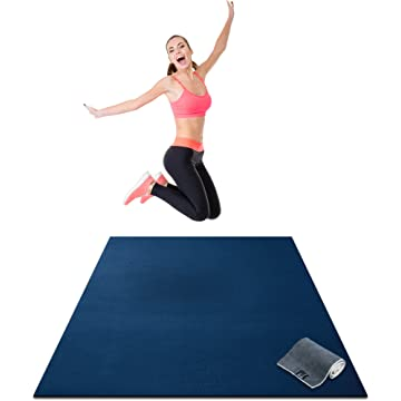 top selling Premium Large Exercise Mat - 6' x 4' x 1/4