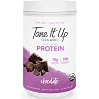 Tone It Up Plant Based Protein Powder - Organic Pea Protein for Women - Sugar Free, Gluten Free, Dairy Free and Kosher…