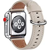 WFEAGL Compatible Apple Watch Band 38mm 40mm, Top Grain Leather Band Replacement Strap for iWatch Series 4,Series 3…
