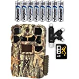 Browning Recon Force Edge 4K Trail Camera with Batteries, SD Card, and Card Reader