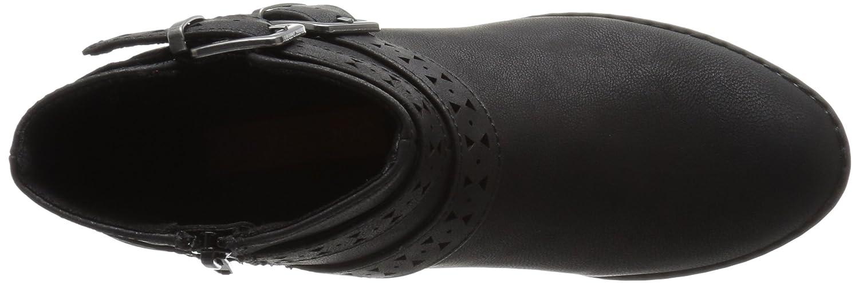 Rocket Dog Women's Mack Lewis Pu Ankle Bootie B01I4EK18O 9 B(M) US Black