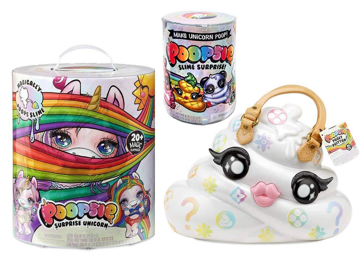 Poopsie Pooey Puitton Slime Surprise Slime Kit & Carrying Case, Oopsie Slime Surprise Unicorn, & Slime Surprise Unicorn Poop by Poopsie (Image #1)