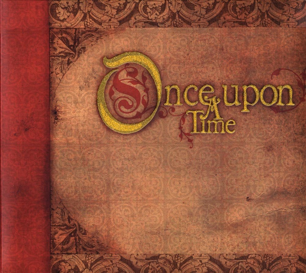 DCWV Once Upon A Time Postbound Album with Glitter, 12 x 12 inches Notions - In Network AL-013-00010