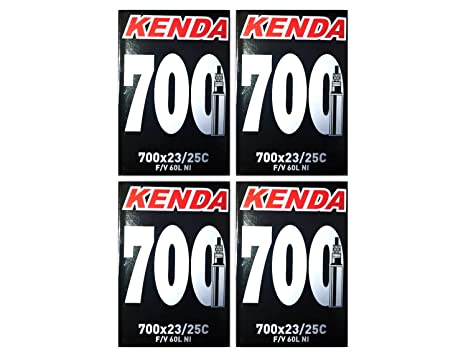 278d4b40af4 Amazon.com   Kenda 700 x 23 25c Bicycle Inner Tubes 60mm Presta ...