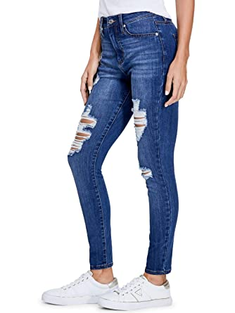GUESS Factory Womens Kaitlin High-Rise Skinny Jeans