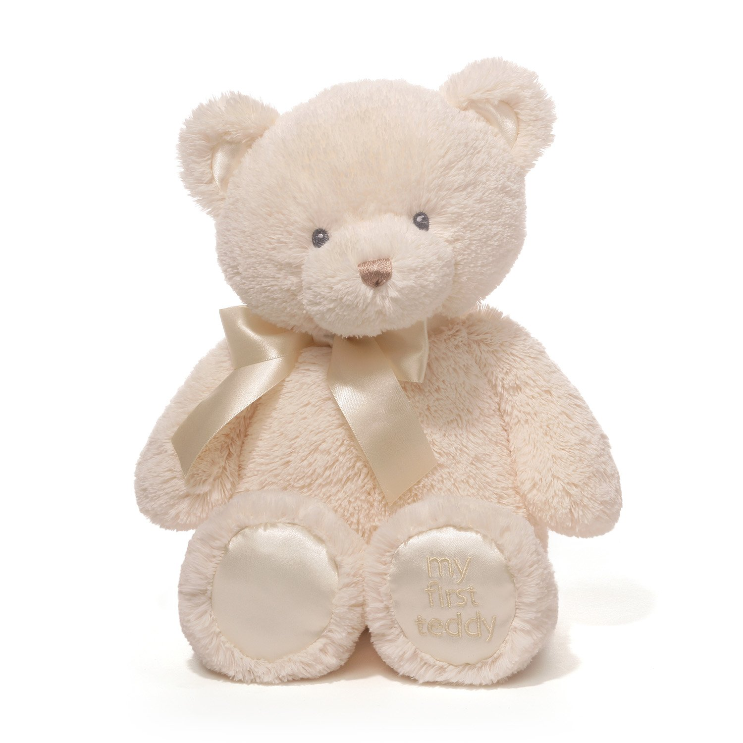 Baby GUND My First Teddy Bear Stuffed Animal Plush, Cream, 15''