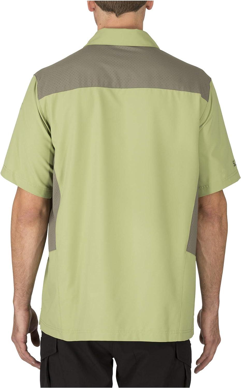 5.11 Libertad Flex Polo Camiseta de, Hombre, 71356, Mosstone ...