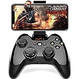 Bluetooth iPhoneコントローラーPXN Apple認証IOS MFi ゲームパッド iPhone, iPad, iPod touchに対応(黒)