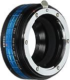 Fotodiox Pro - Adaptador de objetivos Nikon para cámaras Micro 4/3 para Olympus PEN E-PL1, E-PL1s, E-PL2, E-PL3, E-P2, E-P3, E-M, OM-D, E-M5, Panasonic Lumix DMC-G1, G2, G3, G10, GX1, GH1, GH2, GF1, GF2, GF3, GF5 y Panasonic AG-AF100