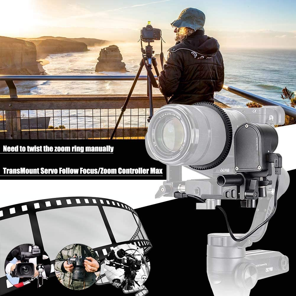 Mugast Camera Video Follow Focus Zoom Controller with Gear Belt and USB Cable Professional Accessory for Zhiyun WEEBILL LAB//Crane 3 LAB Stabilizer