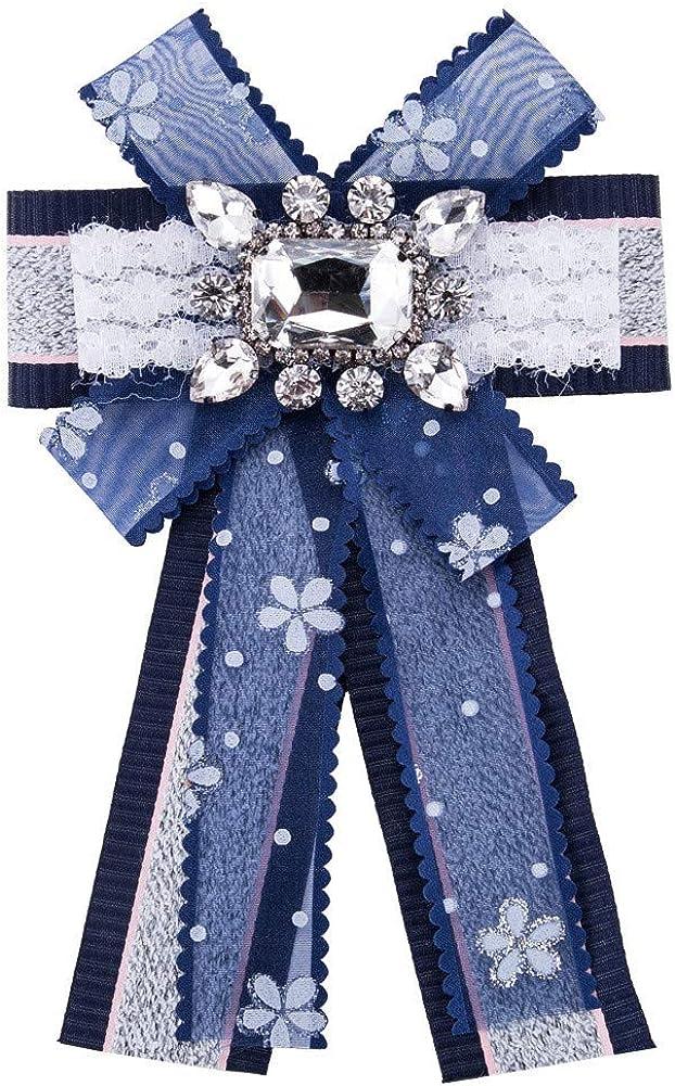 DDLKK Multi-Layer Grosgrain Brooch and Pin Ladies Brooch Space Jewelry Ladies and Ladies Accessories Ladies Jewelry Pin Jacket Rhinestone Crystal Diamond