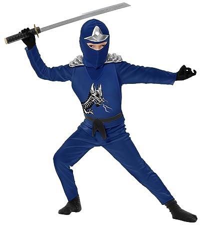 Amazon.com: Ninja Avenger II con armadura, Azul, Niño Tamaño ...