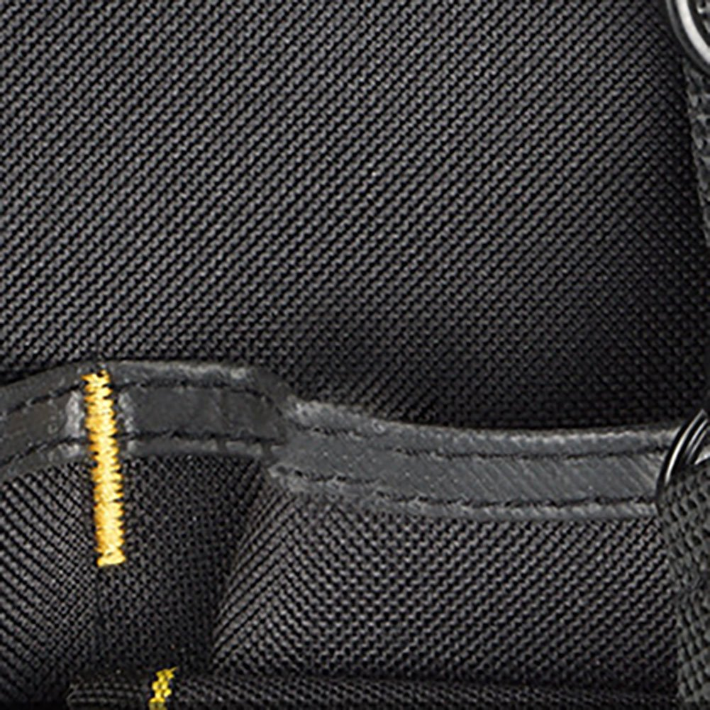 Diafrican La bolsa para herramientas puede acomodar una variedad de herramientas Bolsa de clasificaci/ón de herramientas universal adecuada para carpinteros con 56 bolsillos grandes
