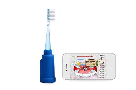 Vigilant Rainbow - Cepillo de dientes con conexión inalámbrico para Smartphone, azul: Amazon.es: Electrónica