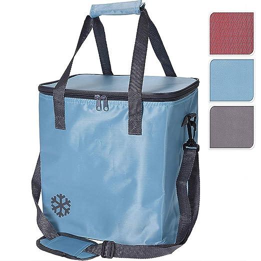 Bolsa Nevera 10 Litros con cremallera,asas,compartimentos,piscina,playa,camping