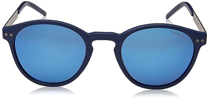 Sunglasses Polaroid Core Pld 1029 /S 0RCT Matte Blue / 5X gray mirror blue  pz lens at Amazon Men's Clothing store: