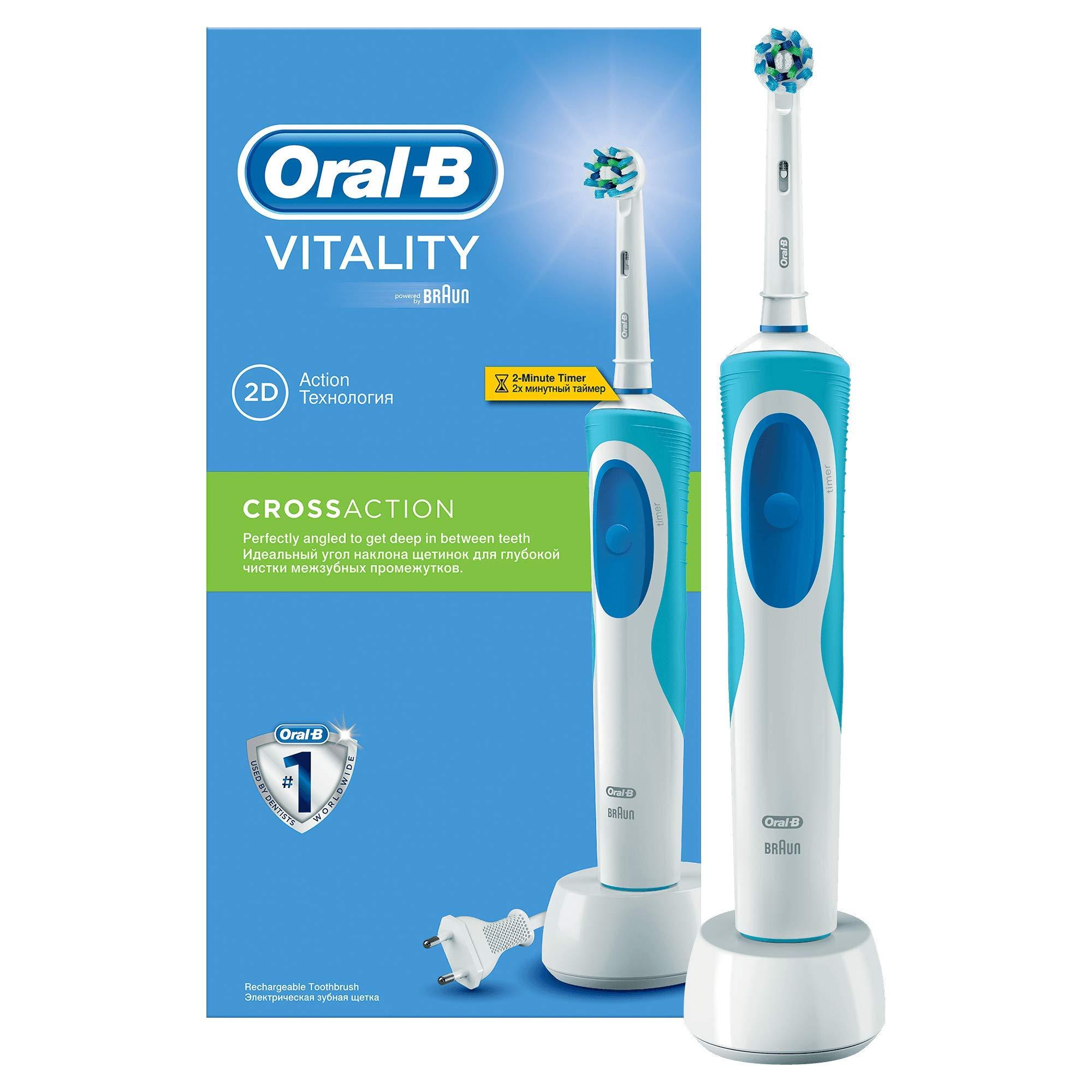 Oral-B Vitality, Cepillo De Dientes Eléctrico, CrossAction product image