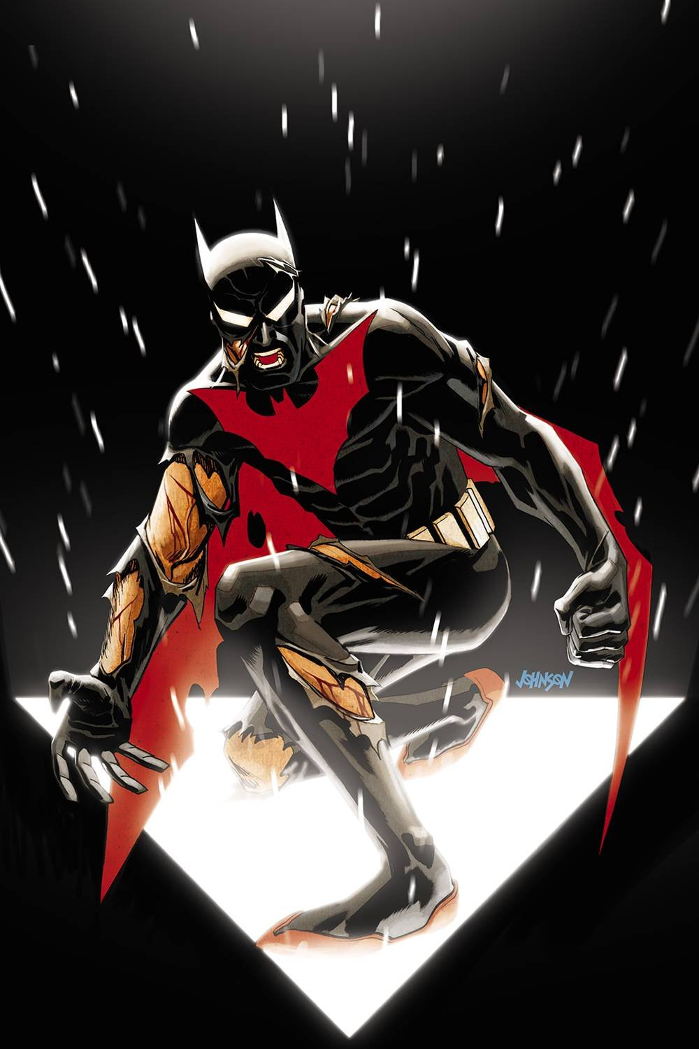 Download Batman Beyond (Issue #16 -Variant Cover by Dave Johnson) PDF