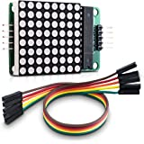 kwmobile MAX7219 Dot Matrix Module - Red LED Matrix Display Module Control DIY Kit for Arduino and Raspberry Pi 8x8