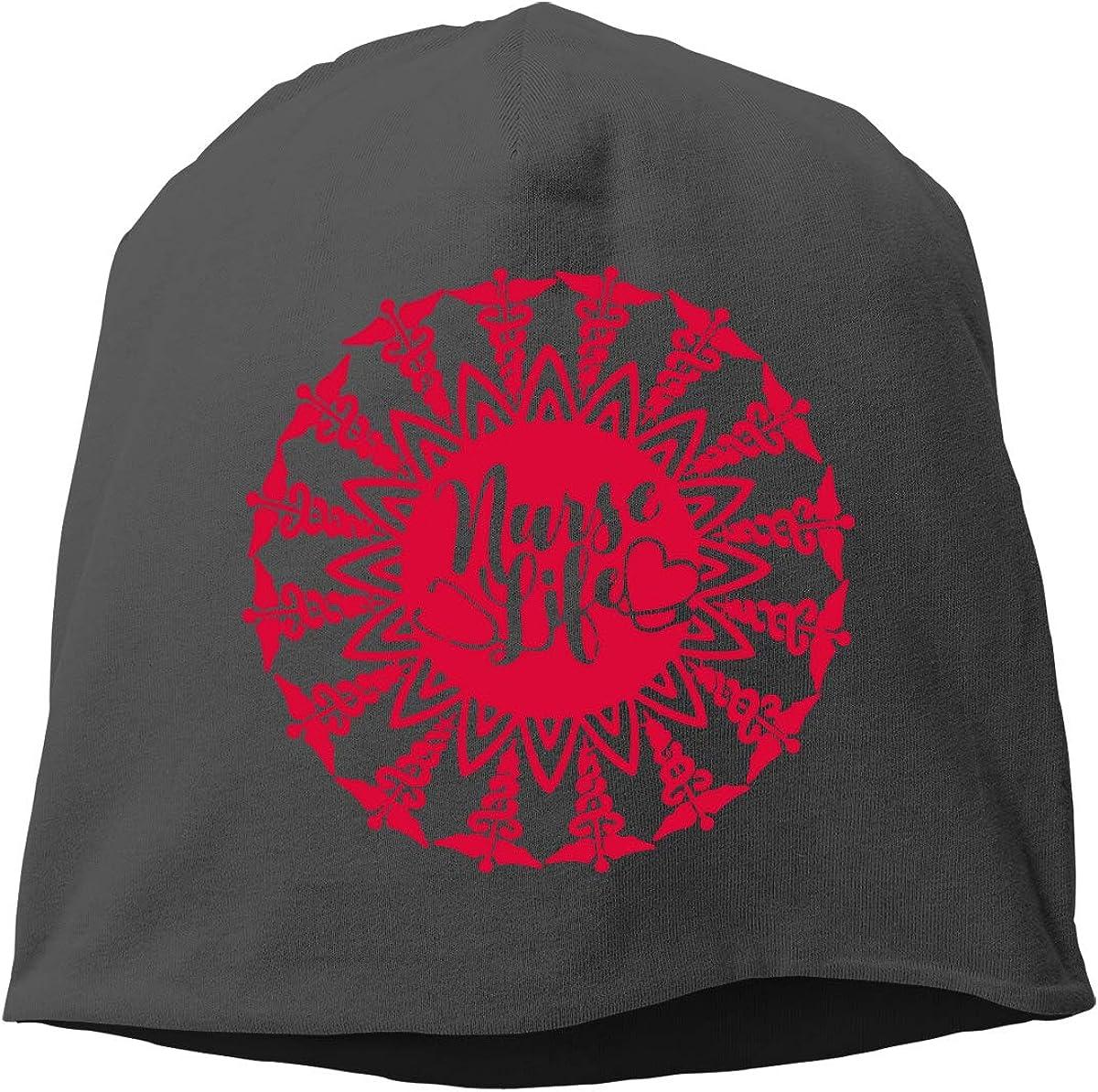 Winter Warm Daily Hat TLPM9LKMBM Nurse Life-2 Beanie Skull Cap for Women and Men