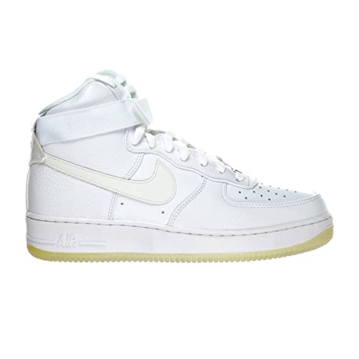 Nike Air Force 1 Hi CMFT PRM QS Men's Shoes White/White 573972-101