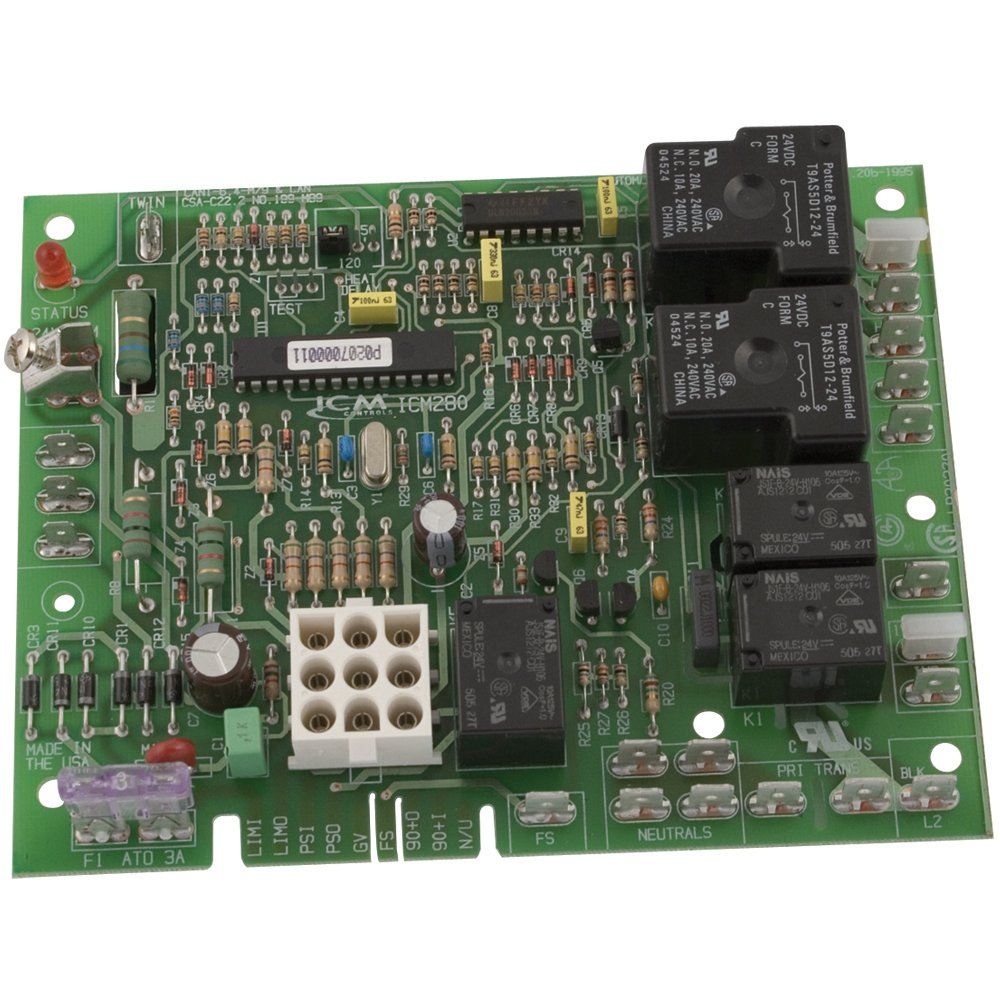 Icm Controls Icm280 Furnace Control Replacement For Oem Models Janitrol Thermostat Wiring Diagram Wires 7 Including Goodman B18099 Xx Series Boards Electrical Equipment