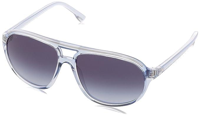 Hogan - Gafas de sol Wayfarer HO0055, 84W Transparent Blue ...