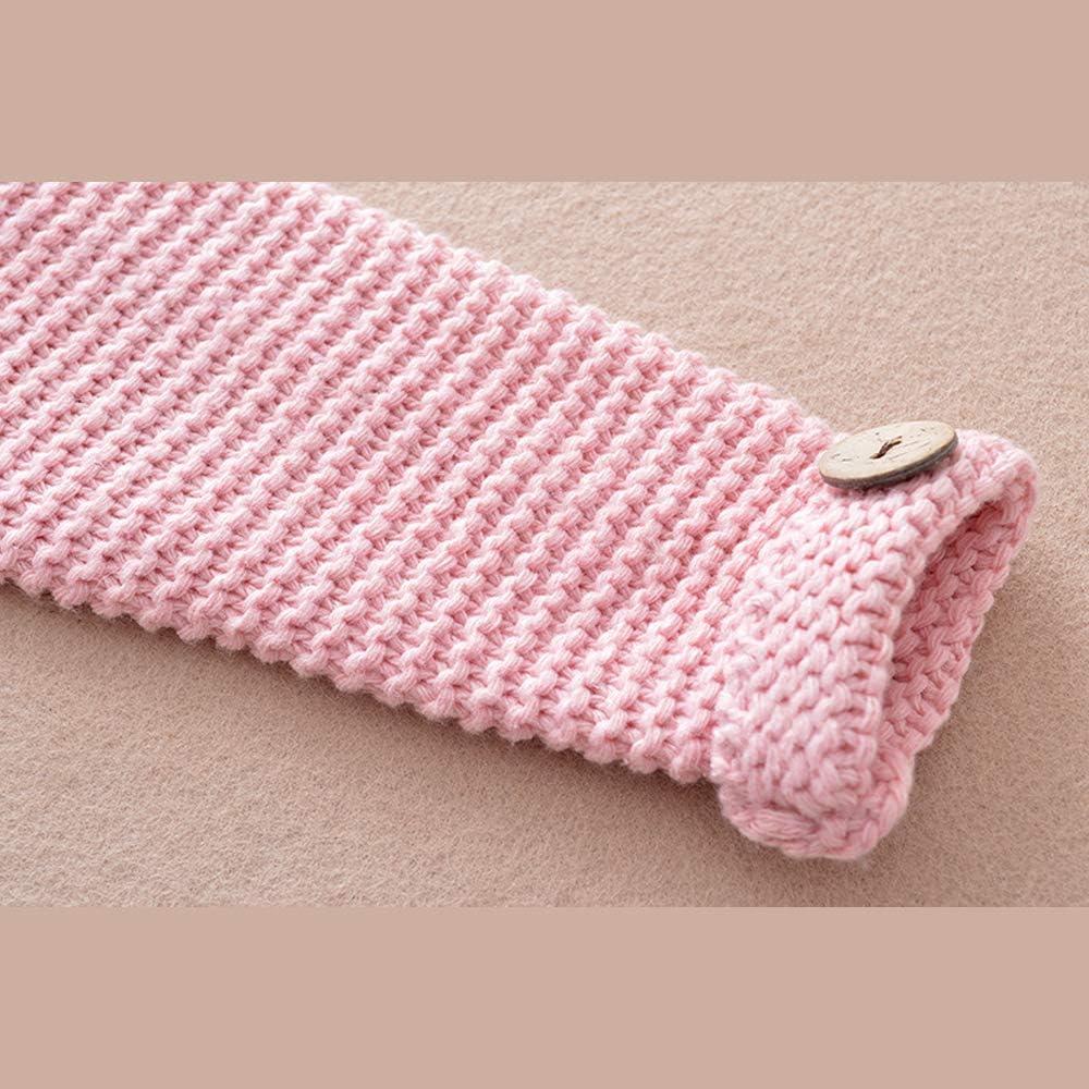 Mibuy Kinder M/ädchen Strickjacke Langarm Mantel Umhang Pullover Weich Cardigan Herbst Winter Kleidung