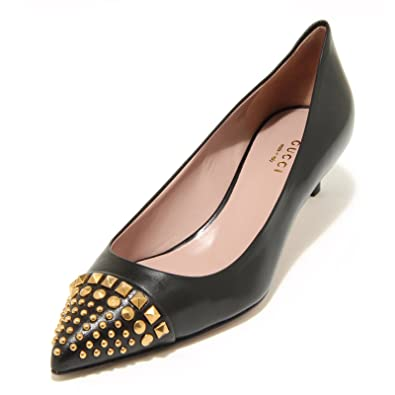 6b0444352f52 Gucci 3809 G Women Decollete Black Malaga Shoe Shoes Women Black Size  3.5