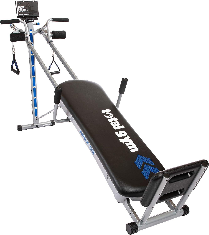 Versatile home gym equipment
