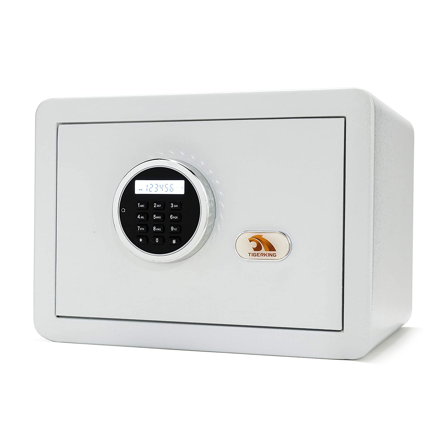 Safe, Safe Box, Security Safe,Digital Safe, Safe and Lock Box,Safety Box for Home,Electronic Steel Safe with Keypad,by TIGERKING