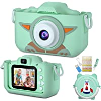"""SoloKing Camera Digital for Kids, Rechargeable Kids Selfie Camera with Camera Bag,40MP,2.0""""HD,1080P Video Recorder…"""